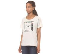 Floral Box - T-Shirt für Damen - Beige