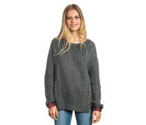 Anziola - Strickpullover für Damen - Grau