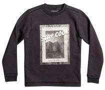 Stay Cool Crew - Sweatshirt für Jungs - Schwarz