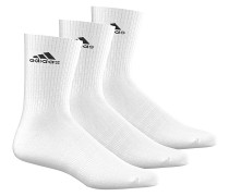 3 Performance CrewSocken Weiß