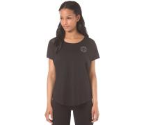 Core Plus CP Scoop Neck - T-Shirt für Damen - Schwarz