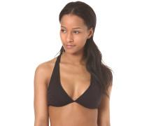 Las Palmas Fixed Halter - Bikini Oberteil für Damen - Schwarz