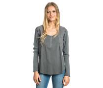 Algarrobo - Langarmshirt für Damen - Grau