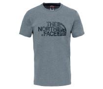 Woodcut Dome - T-Shirt für Herren - Grau