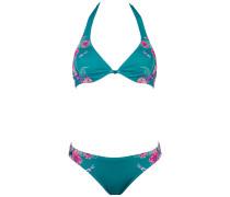 Lonna D Cup - Bikini Set für Damen - Blau