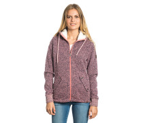 Active Heather Polar - Kapuzenjacke für Damen - Pink