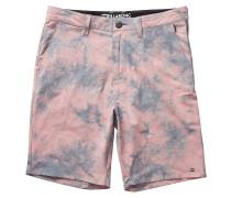 New Order X Riot - Shorts für Herren - Rot