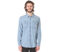 Washed - Hemd für Herren - Blau