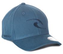 Tepan Curve Peak - Flexfit Cap für Herren - Blau