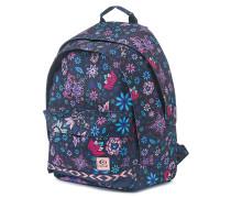 Mandala Double Dome - Rucksack für Damen - Blau