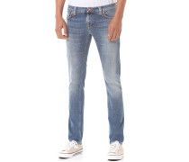 Long JohnJeans Blau