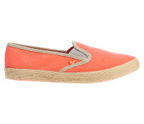 Redondo Jute - Slip Ons für Damen - Orange