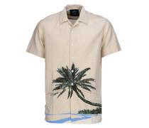 Hawaiian Gardens - Hemd für Herren - Beige