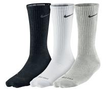 3Pack Dri Fit Lightweight Crew Socken - Mehrfarbig