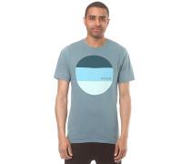 Circular Block - T-Shirt für Herren - Blau