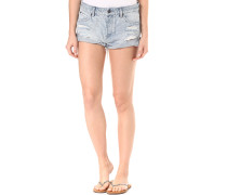 Stoned Rolled - Shorts für Damen - Blau