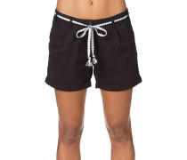 Alka - Shorts für Damen - Schwarz