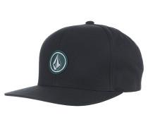 Quarter Twill - Snapback Cap für Herren - Schwarz