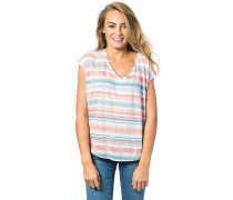 Gracia - T-Shirt für Damen - Blau