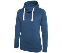 Sissini - Kapuzenpullover für Damen - Blau