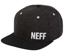 Daily Fabric Snapback Cap - Schwarz