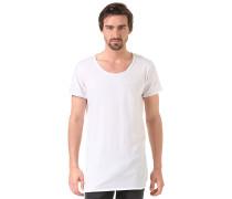 Laser Cut - T-Shirt für Herren - Weiß
