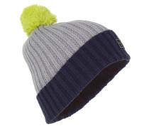 Pompom Boy - Mütze für Herren - Grau