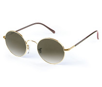Flower Sonnenbrille - Gold