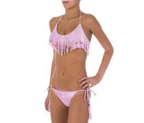 Coachella Triangel - Bikini Set für Damen - Pink