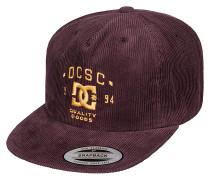 Cordbank - Snapback Cap für Herren - Rot