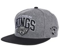 Assist League Logo LA KingsSnapback Cap Grau
