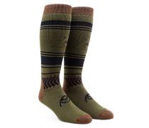 See All - Snowboard Socken für Herren - Braun