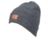 Label - Mütze für Herren - Grau