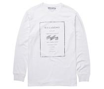Reversed - Langarmshirt für Herren - Weiß