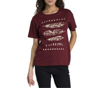 Basic - T-Shirt für Damen - Rot