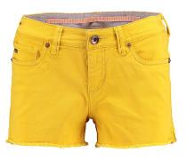 Island - Shorts für Damen - Gelb