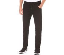 Jogger Jeans - Stoffhose für Herren - Schwarz