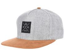 Stitch Snapback Cap - Grau
