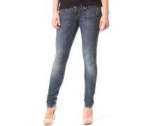 Lynn Mid Skinny Slander Superstretch - Jeans für Damen - Blau