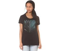 Dark Leaf - T-Shirt für Damen - Schwarz