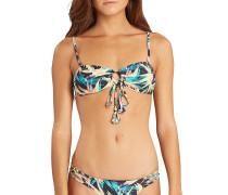 Paradise FOXy Bandeau - Bikini Oberteil für Damen - Blau
