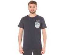 Echo Beach Pocket - T-Shirt für Herren - Blau