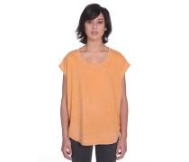 Simply Solid Circle - Top für Damen - Orange