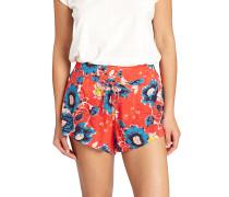 Sunny Eyes - Shorts für Damen - Rot
