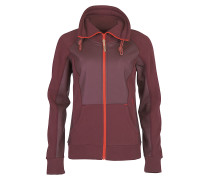 Orsina - Sweatjacke für Damen - Rot