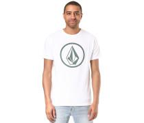 Circle Stone Heather - T-Shirt - Weiß