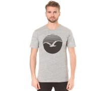 Vintage Print - T-Shirt für Herren - Grau