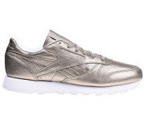 Classic Lthr Melted Meta - Sneaker - Gold