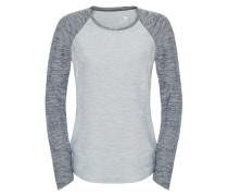 Motivation - Langarmshirt für Damen - Grau