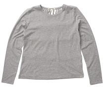 Winter Times - Langarmshirt für Damen - Grau